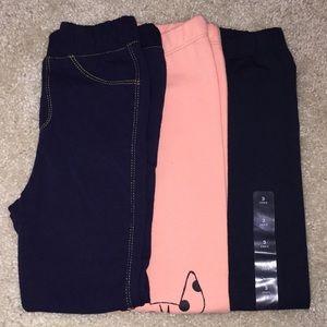 NWT/like new Gap leggings 3t
